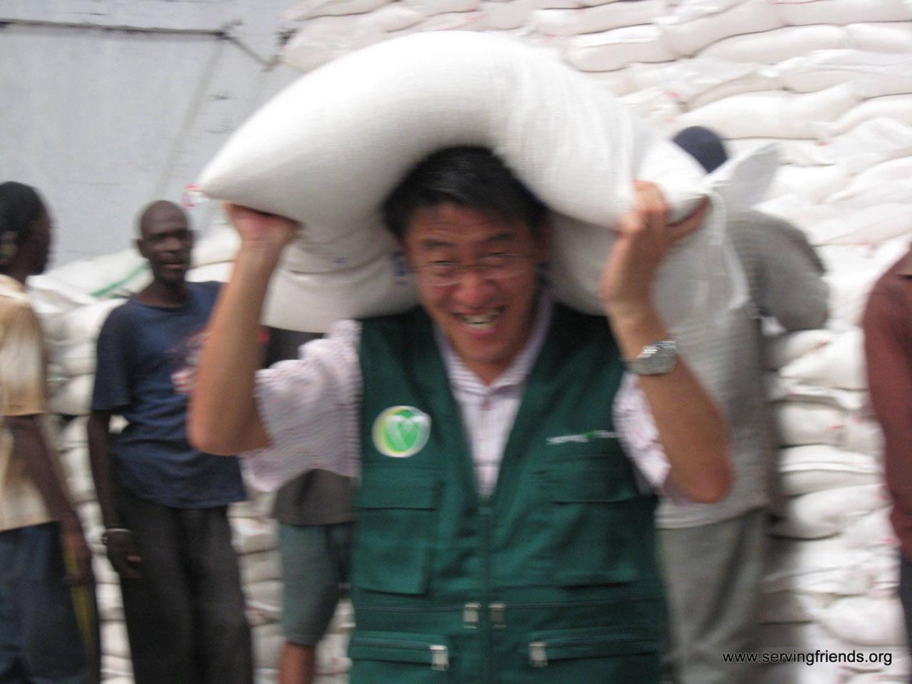 아이티에서 김월림, 고혜선 선교 보고